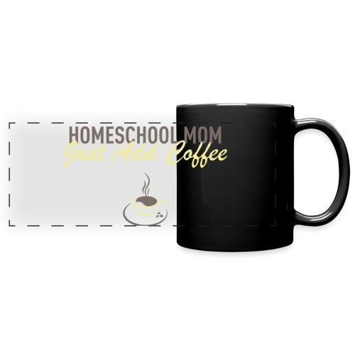 Homeschool Mom - Full Color Panoramic Mug