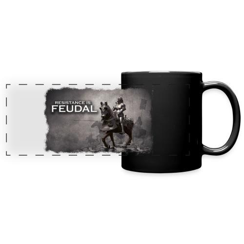 Resistance is Feudal 2 - Full Color Panoramic Mug