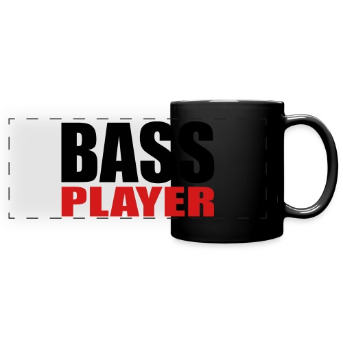 Bass Player - Full Color Panoramic Mug