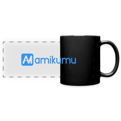 Amikumu Logo Blue - Full Color Panoramic Mug