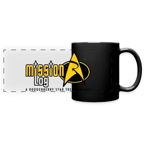 Logo Wide 2 Color Black Text - Full Color Panoramic Mug