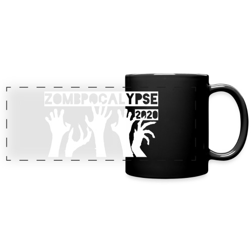 Zombpocalypse 2020 - Full Color Panoramic Mug