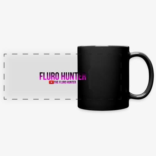 The Fluro Hunter Black And Purple Gradient - Full Color Panoramic Mug