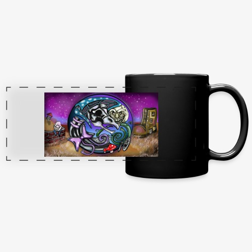 Mother CreepyPasta Land - Full Color Panoramic Mug