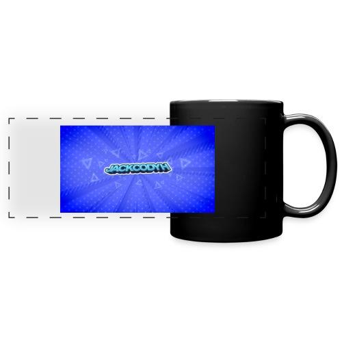 JackCodyH logo - Full Color Panoramic Mug