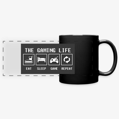 Gaming is life - Full Color Panoramic Mug