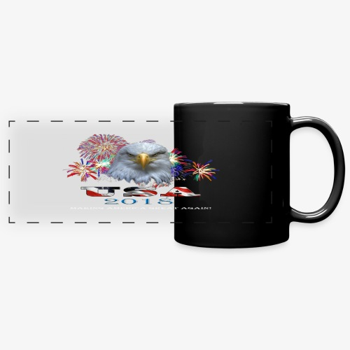 USA EAGLE 2018 - Full Color Panoramic Mug