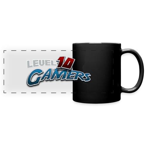 Level10Gamers Logo - Full Color Panoramic Mug