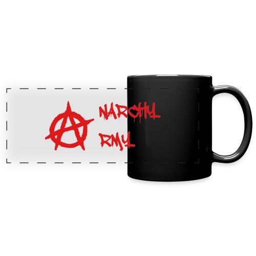 Anarchy Army LOGO - Full Color Panoramic Mug
