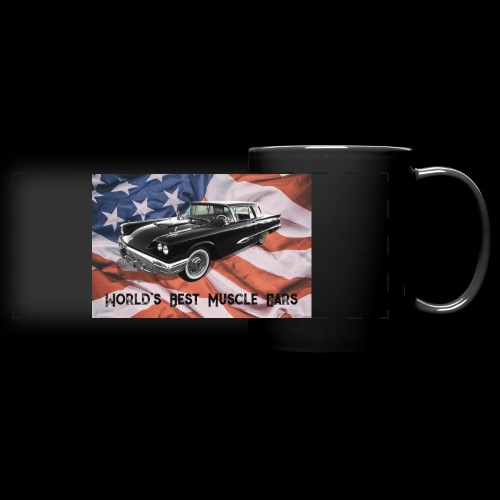 World's Best Muscle Cars - Full Color Panoramic Mug