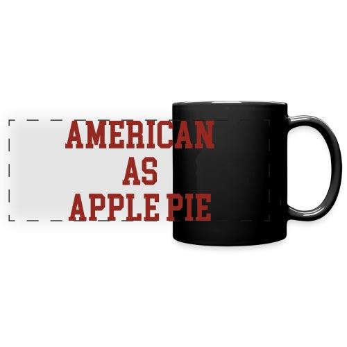 American as Apple Pie - Full Color Panoramic Mug