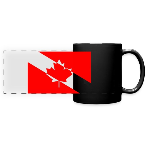 Clear White Dive Canada v. Small - Full Color Panoramic Mug