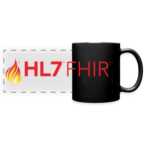 HL7 FHIR Logo - Full Color Panoramic Mug