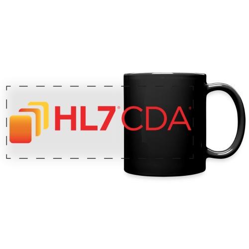 HL7 CDA Logo - Full Color Panoramic Mug