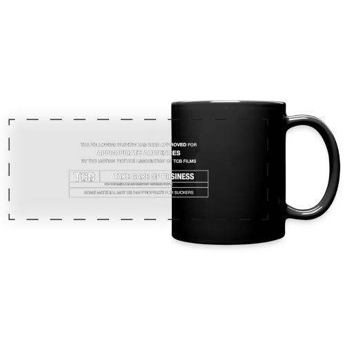TCB Films Disclamer - Full Color Panoramic Mug