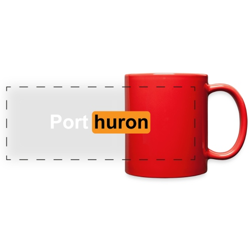 Port Huron Parody - Full Color Panoramic Mug