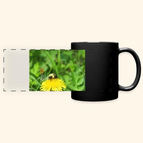 Dandelion Bee - Full Color Panoramic Mug