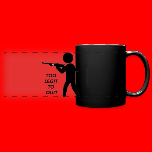 OxyGang: Too Legit To Quit Products - Full Color Panoramic Mug