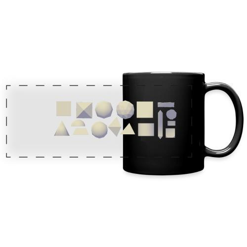 Anyland shapes - Full Color Panoramic Mug