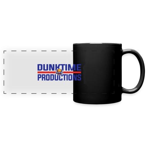 DUNKTIME Retro logo - Full Color Panoramic Mug