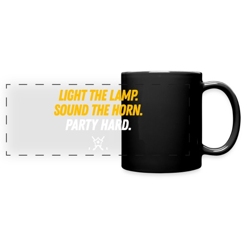 Light the Lamp. Sound the Horn. Party Hard. v2.0 - Full Color Panoramic Mug