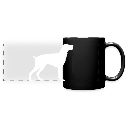German Wirehaired Pointer - Full Color Panoramic Mug