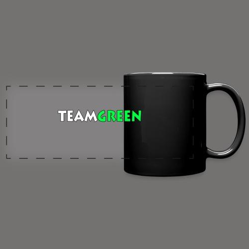 TeamGreen png - Full Color Panoramic Mug