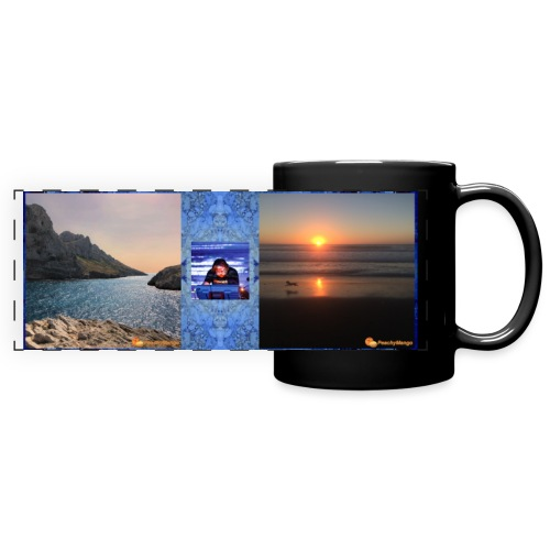 Mug with Suspended Times and Elements cover art - Full Color Panoramic Mug