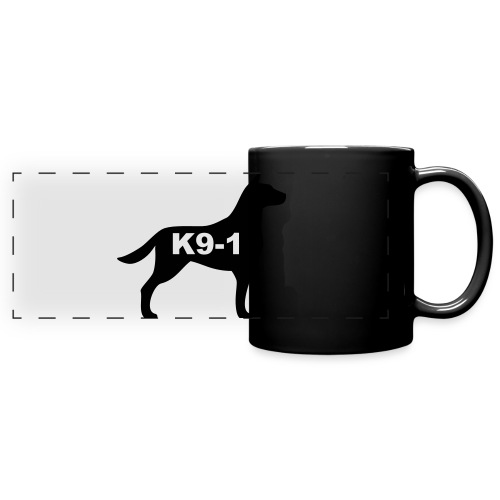k9-1 Logo Large - Full Color Panoramic Mug