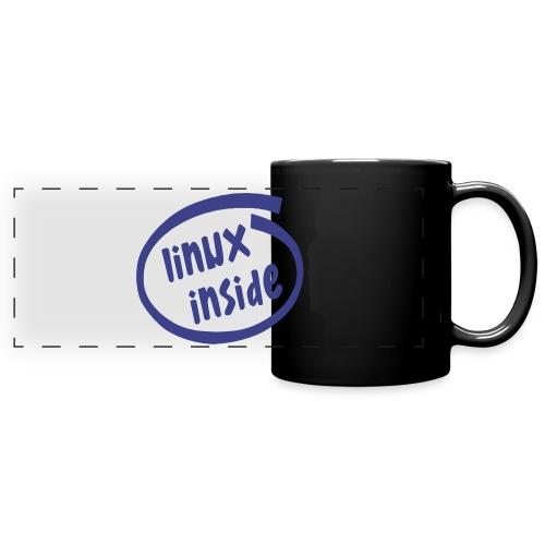 linux inside - Full Color Panoramic Mug