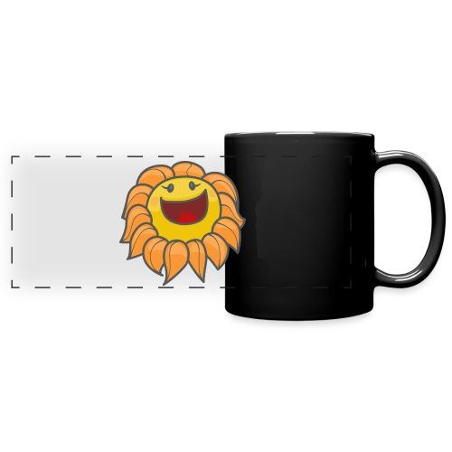 Happy sunflower - Full Color Panoramic Mug