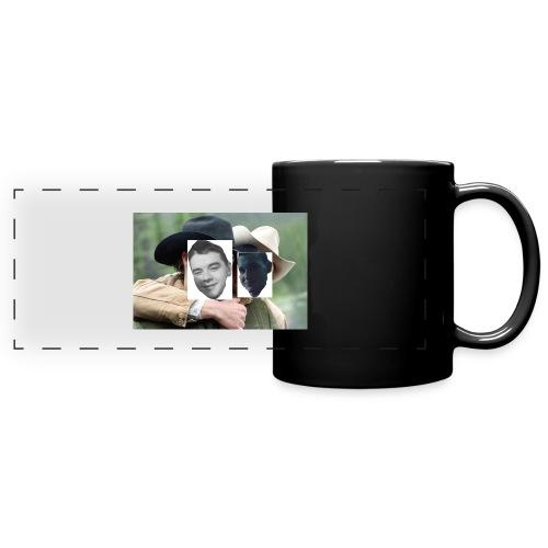 Darien and Curtis Camping Buddies - Full Color Panoramic Mug