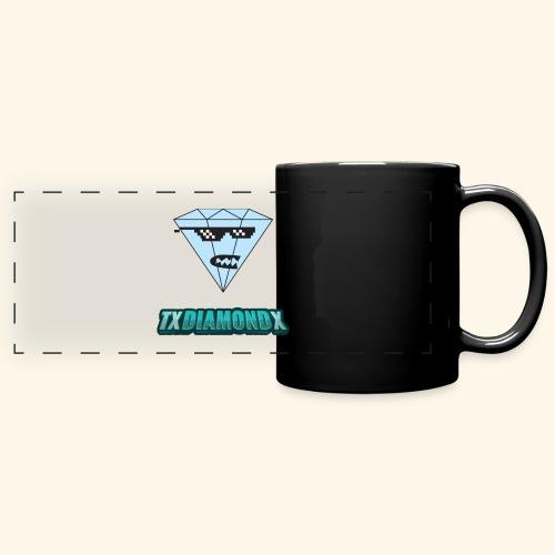 Txdiamondx Diamond Guy Logo - Full Color Panoramic Mug