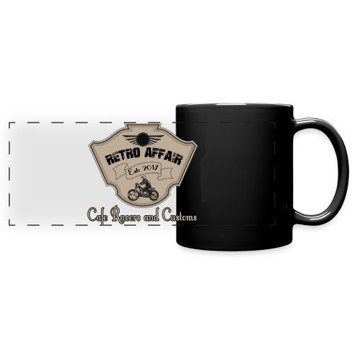 Retro Badge - Full Color Panoramic Mug
