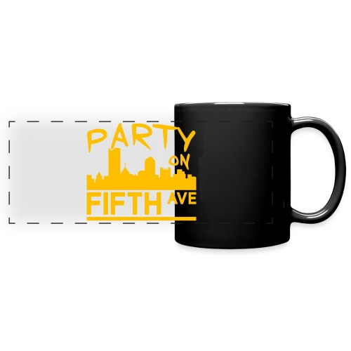 Party on Fifth Ave - Full Color Panoramic Mug