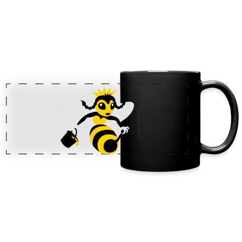 Queen Bee - Full Color Panoramic Mug