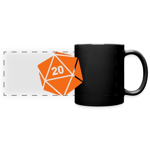D20 Winter Toque - Full Color Panoramic Mug