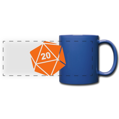 D20 Winter Toque - Full Color Panoramic Mug
