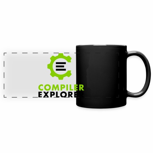 Logo and text - Full Color Panoramic Mug