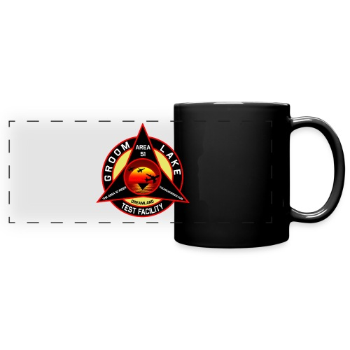 THE AREA 51 RIDER CUSTOM DESIGN - Full Color Panoramic Mug
