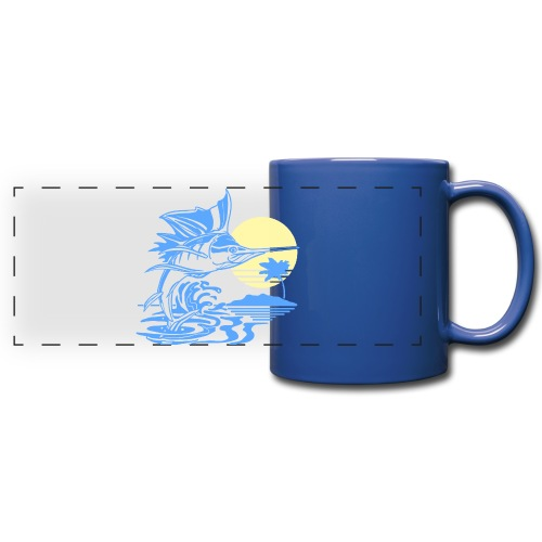 Sailfish - Full Color Panoramic Mug