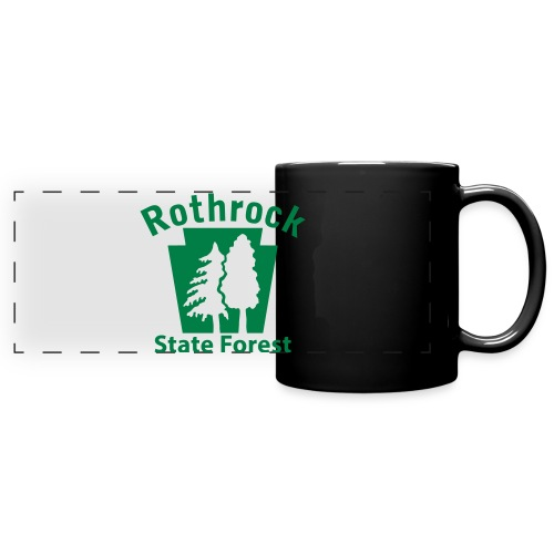Rothrock State Forest Keystone (w/trees) - Full Color Panoramic Mug