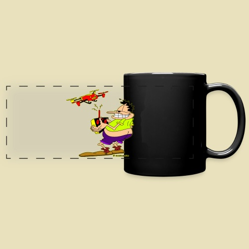 GrisDismation Ongher Droning Out Tshirt - Full Color Panoramic Mug
