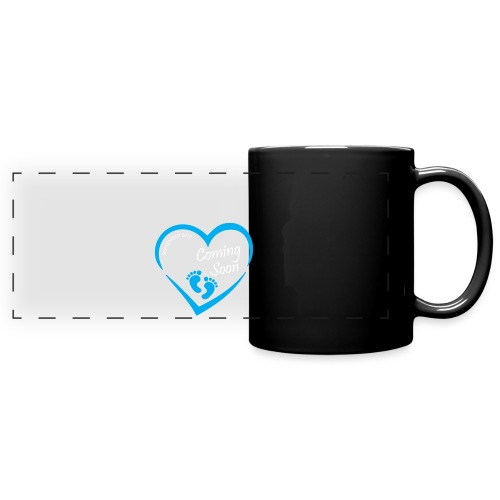 Baby coming soon - Full Color Panoramic Mug