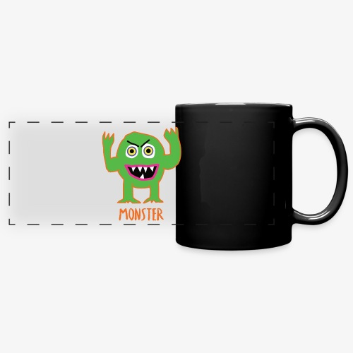 Monster - Full Color Panoramic Mug
