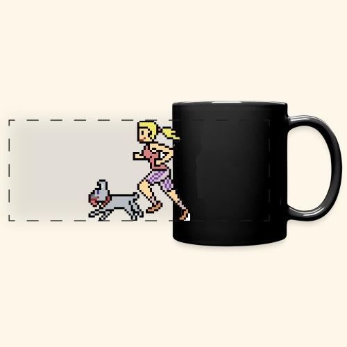 RunWithPixel - Full Color Panoramic Mug