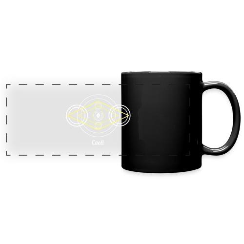 Caeli Air Element Alchemy Diagram - Full Color Panoramic Mug