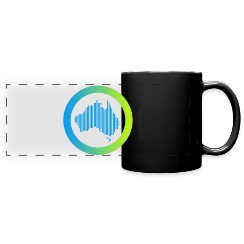 Gradient Symbol Only - Full Color Panoramic Mug