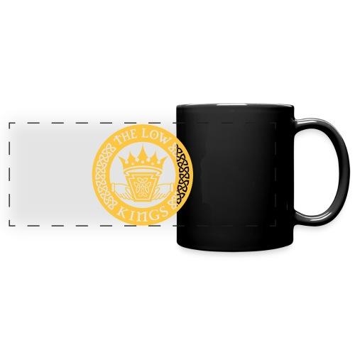 Gold logo - Full Color Panoramic Mug
