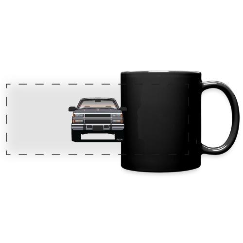 Design Icon: American Bowtie Silver Urban Truck - Full Color Panoramic Mug